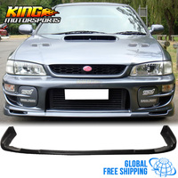 Fits 97 01 Subaru Impreza WRX Sti Front Bumper Lip Spoiler Body kit Poly Urethane Global Free Shipping Worldwide