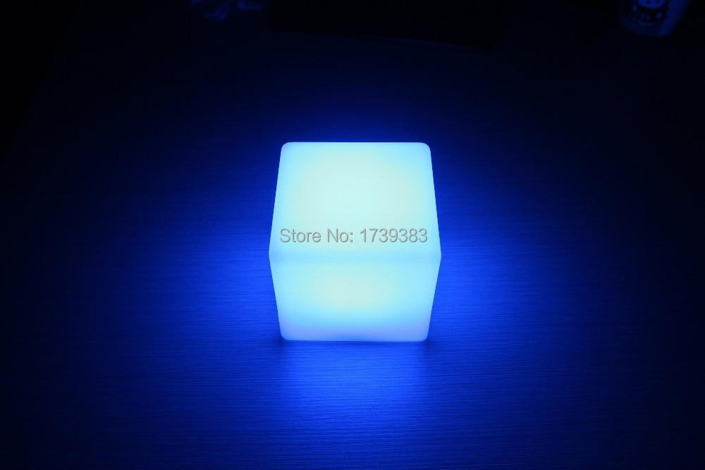 10CM Magic Dice LED luminous square night light glowing decorative led cube lumineux table light for table lamp/room mood light magic props listen dice