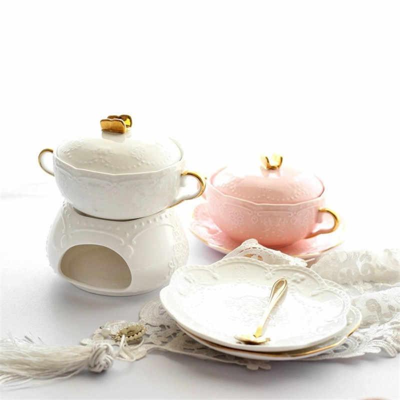 สลัดชามพร้อมฝาปิดและถาดข้าวชาม Binaural ดูดีอาหารคอนเทนเนอร์หรูหราชุดต่างๆใช้เครื่องครัว 1 ชุด