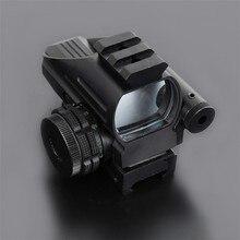 Big sale Free shipping Mini Red Dot LLL Night Vision Laser Sight Air Rifle Gun outdoor  Riflescope Hunting Telescope Sight Sight Gunsight