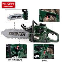 Zhorya претендует игрушки Инструменты для ремонта цепная пила