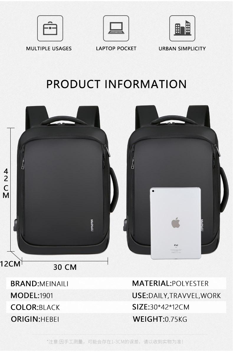 HTB1NonfNYvpK1RjSZPiq6zmwXXaB - 2019 Mens USB Charging Backpack 14 - 15.6 inch Laptop Bags