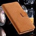 S5 caso del soporte de la cubierta del tirón del teléfono para samsung galaxy s5 sv i9600 completo de Cuero de LA PU Caja Del Teléfono Protectora de La Piel Con Ranura Para Tarjeta y La Hebilla