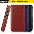 Бренд IMUCA Телефон Случаях Для Для Lenovo A328 Дело Вертикальный Флип Защитный Чехол Для Lenovo Откидная Крышка  чехол