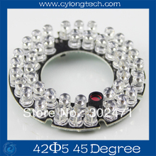 42 LED 5mm Infrared IR Led Board For Camera 45 Degree Bulb.CY42F5-45A