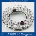 42 LED 5mm Led Infrarrojos IR Junta Para La Cámara de 45 Grados Bombilla. CY42F5-45A