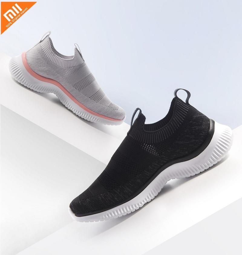 Xiaomi Mijia ULEEMARK Men  Casual Sneaker Shoes Lightweight Ventilate Elastic Wearable Outdoor Sport Shoes
