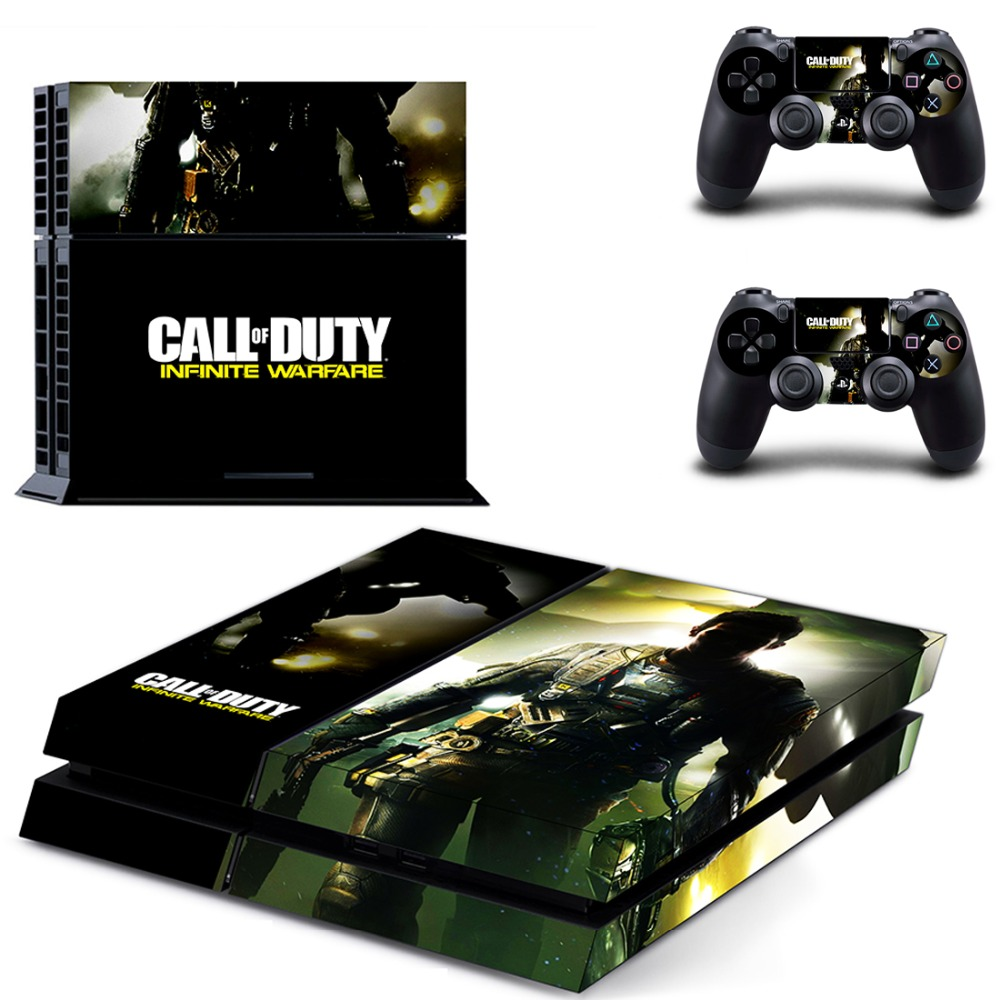 CALL OF DUTY INFINITE WARFARE PS4 Skin Decal Sticker For PlayStation4 Console and 2 controller skins