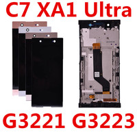 6.0'' For SONY Xperia XA1 Ultra G3221 G3212 G3223 G3226 LCD Screen Display Digitizer For Sony C7 Assembly Touch screen Frame C7|Mobile Phone LCD Screens| |  -