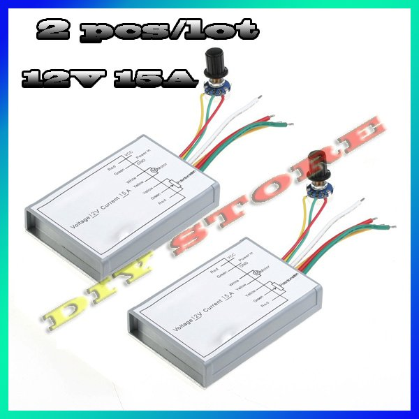 Buy 2pcs Lot Dc Motor Actiyaton 12v 15a