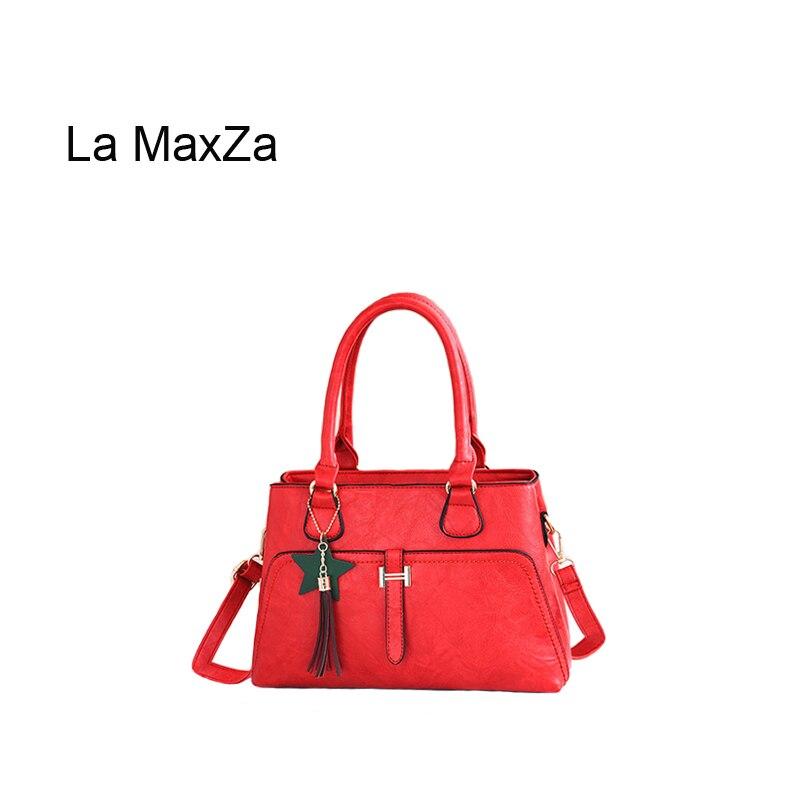 La MaxZa Hot Sell Handbags Tote Bag Designer Bags CasualFashion PU Leather Shoulder Bag High Quality PU Leather Women BagsLa MaxZa Hot Sell Handbags Tote Bag Designer Bags CasualFashion PU Leather Shoulder Bag High Quality PU Leather Women Bags