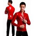 Hombres Ropa Casual de Los Hombres Atractivos de Látex Capa de Estiramiento Polo Para Adultos Más Tamaño Caliente-Venta De Goma Roja Personalizar el Servicio