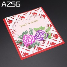 AZSG Macrame Metal Cutting Dies Stencil for DIY Scrapbooking Photo Album Embossing Paper Cards Making Decorative Craft