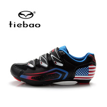 Tiebao Outdoor Sport Cycling Shoes Self-lock Road Bicycle Bike Shoes Breathable Athletic Bike Shoes zapatillas ciclismo