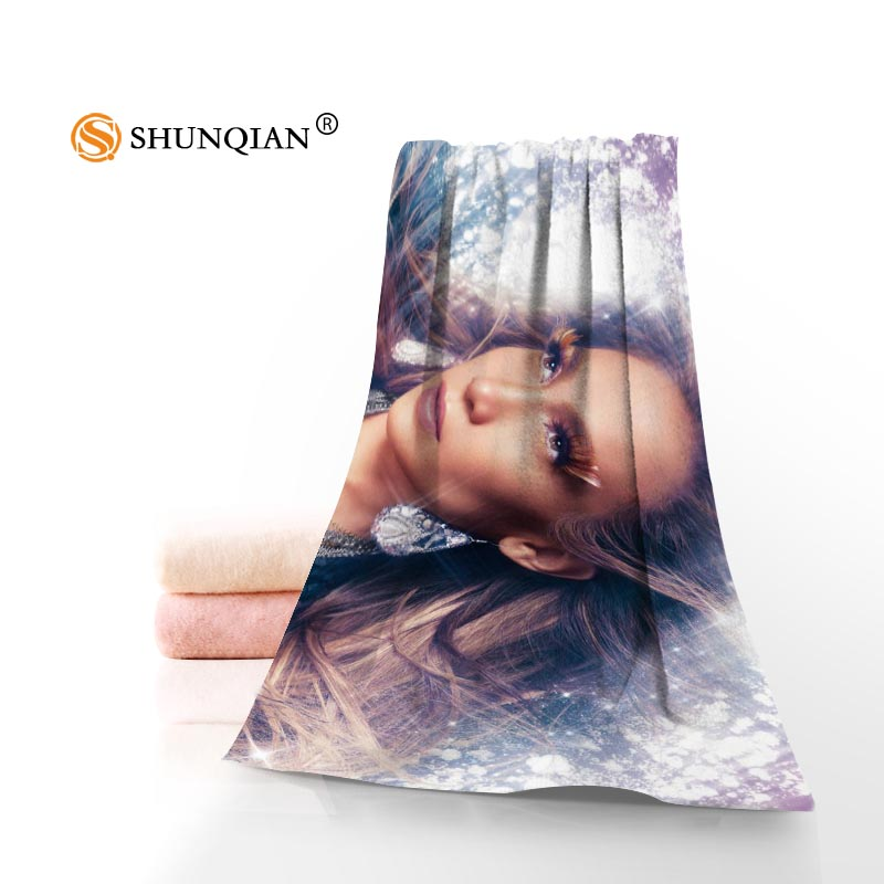Custom Jennifer Lopez Printed Microfiber Beach Towel 35x75cm & 70x140cm Travel Sport Drying Bath Towels Face towel