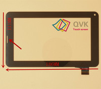 New  070033-Fpc-1.0 writing tablet capacitive touch screen noting size and color