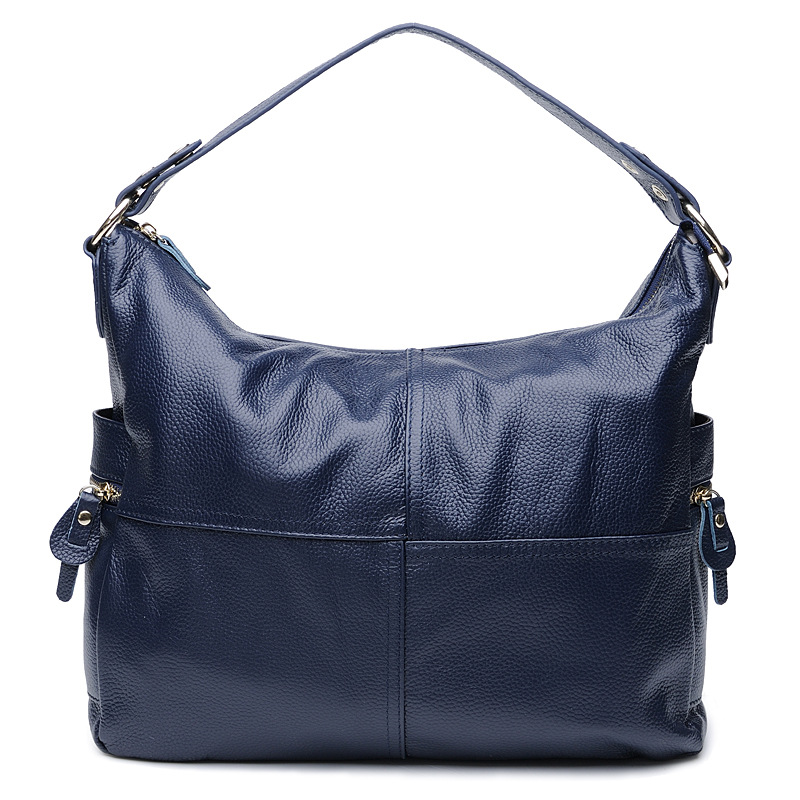 2016 Hot selling genuine leather women crossbody shopping messenger bags casual travel shoulder bags for women business handbags big pocket pad genuine business greased leather cowhide travel crossbody 14laptop shoulder messenger book shopping fashion bags