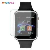 Interpad Android Smart Uhr W88 Bluetooth Smart Uhr Sync Notifier Unterstützung SIM TF Kamera Smartwatch A1 GT08 Mit Glas Film