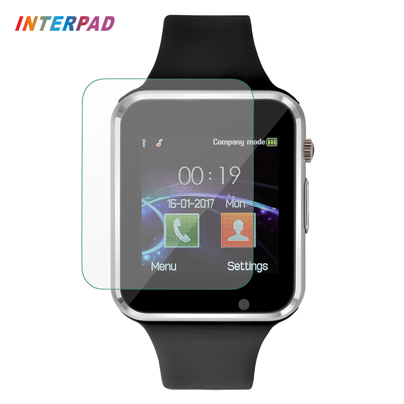 Interpad Android Smart Watch W88 Bluetooth Smart Clock Sync Notifier Support SIM TF Camera Smartwatch A1 GT08 With Glass Film