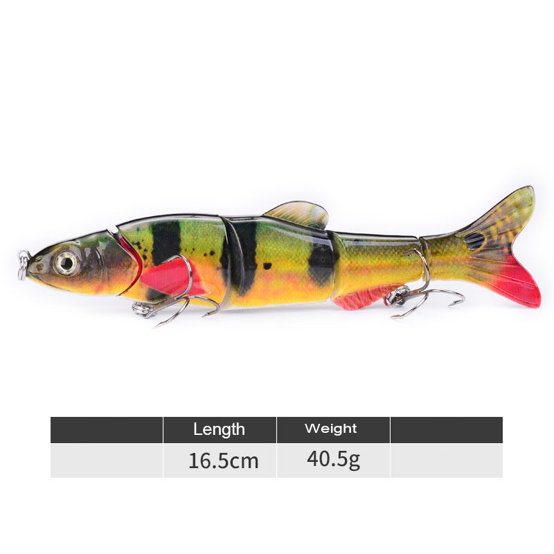 Fishing Lures Sinking Wobblers Multi Jointed Swimbait Pike Lure Hard Baits Fishing Tackle for Bass Trout Pesca Isca Carp in Fishing Lures from Sports Entertainment