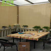 3 x 5 M Garden Sun Shade Net with Straight edge and Alu eyelet style