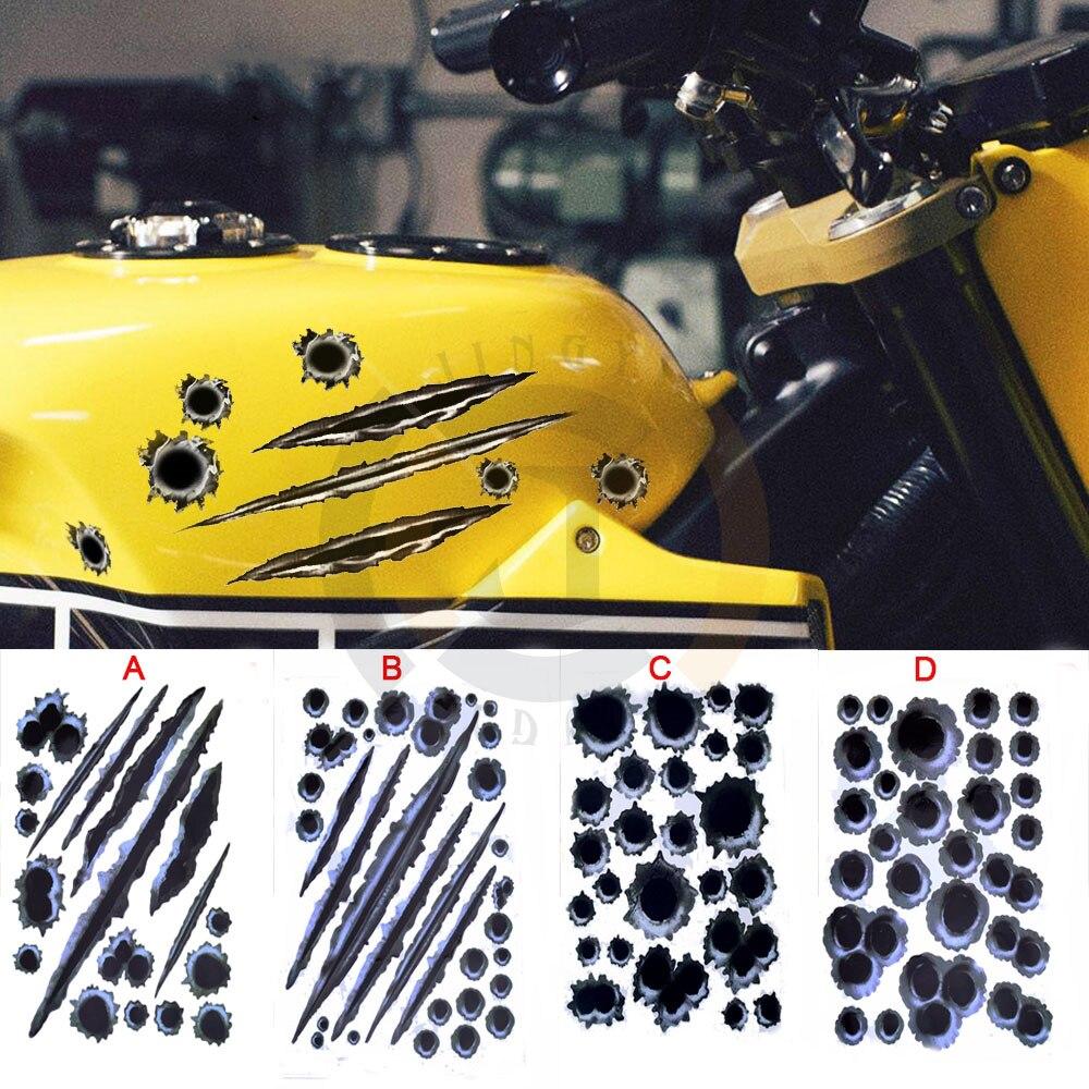 #233 Motorcycle Decal Sticker For honda dio monkey cr 250 xr 250 xr cr 125 steed cg 125 transalp cb750