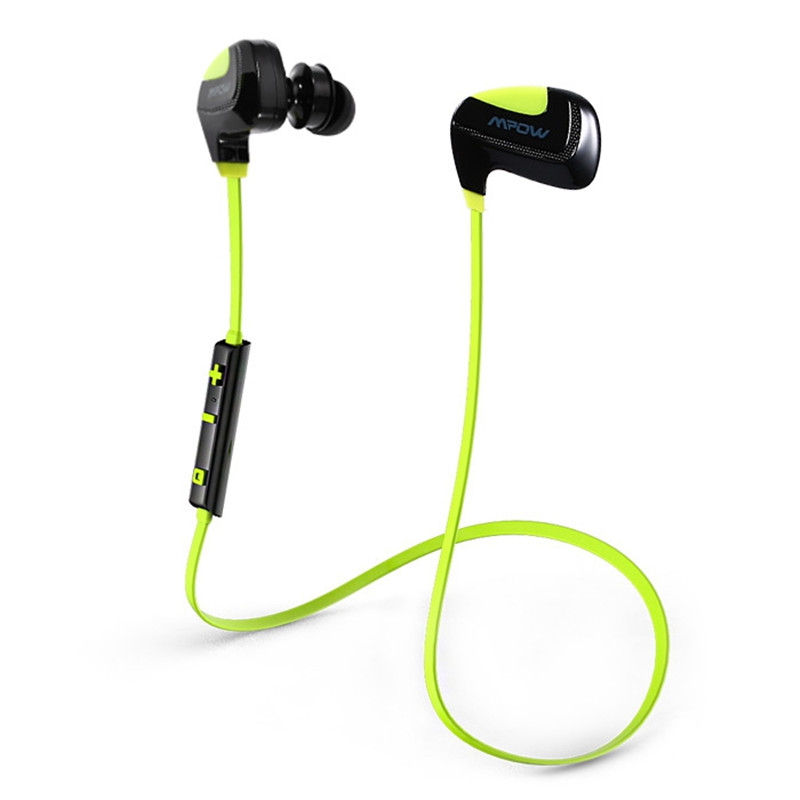 ФОТО Original Earphone MPOW Seashell Bluetooth V4.1 Sport Earbuds Stereo Headphone With Microphone Noise Cancelling IPX4 Waterproof