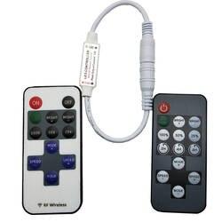 12 клавиш 14 ключей RF Светодиодные ленты контроллер мини-пульт RF пульт дистанционного управления, постоянный ток, 5 В, 12 В, 24 В постоянного