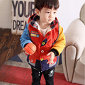 2017 Boy Winter Coat Hooded Children Winter Overalls Hooded Clothes Baby Boys  Fashion Coat Outwear High Qulity