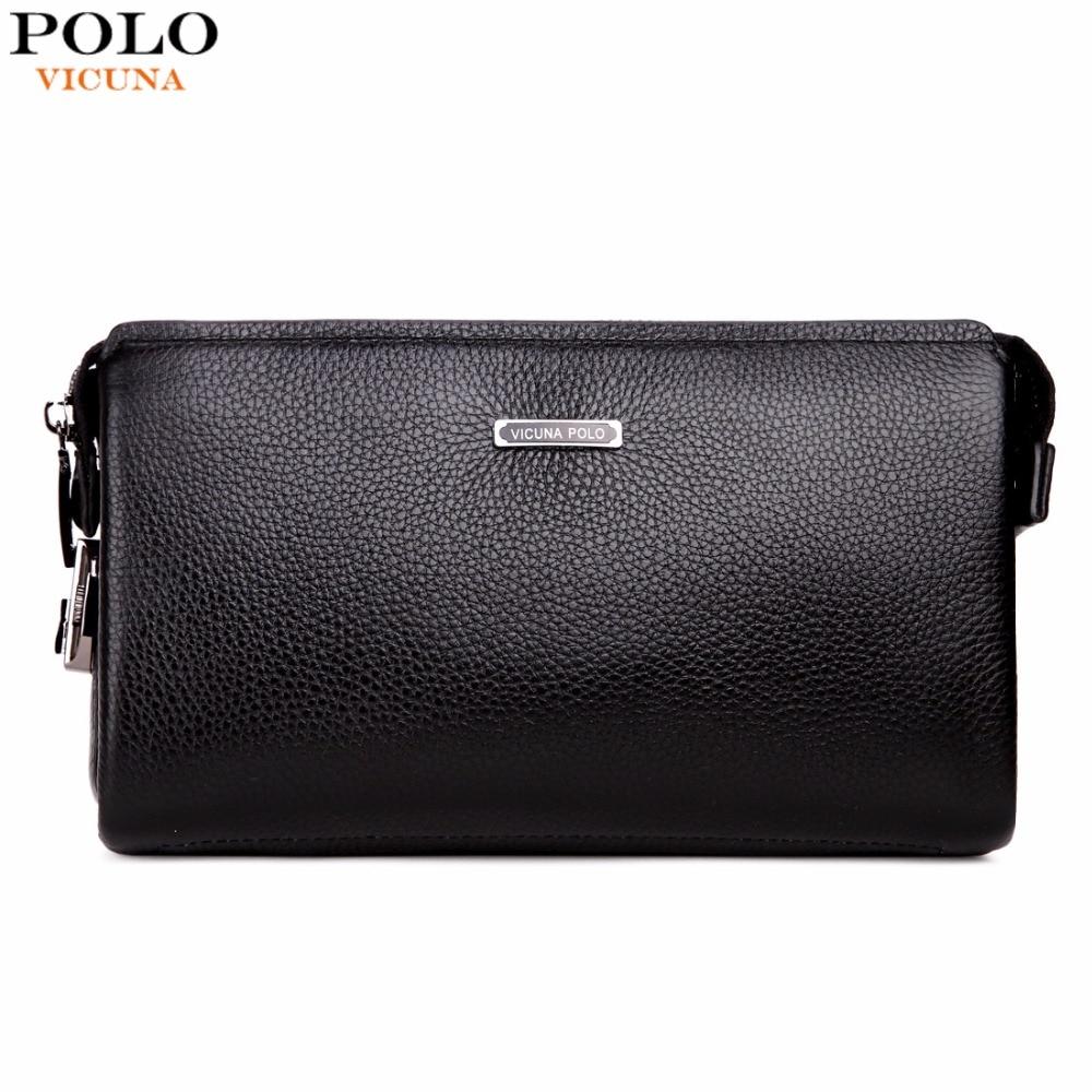 VICUNA POLO Brand Genuine Leather Mens C