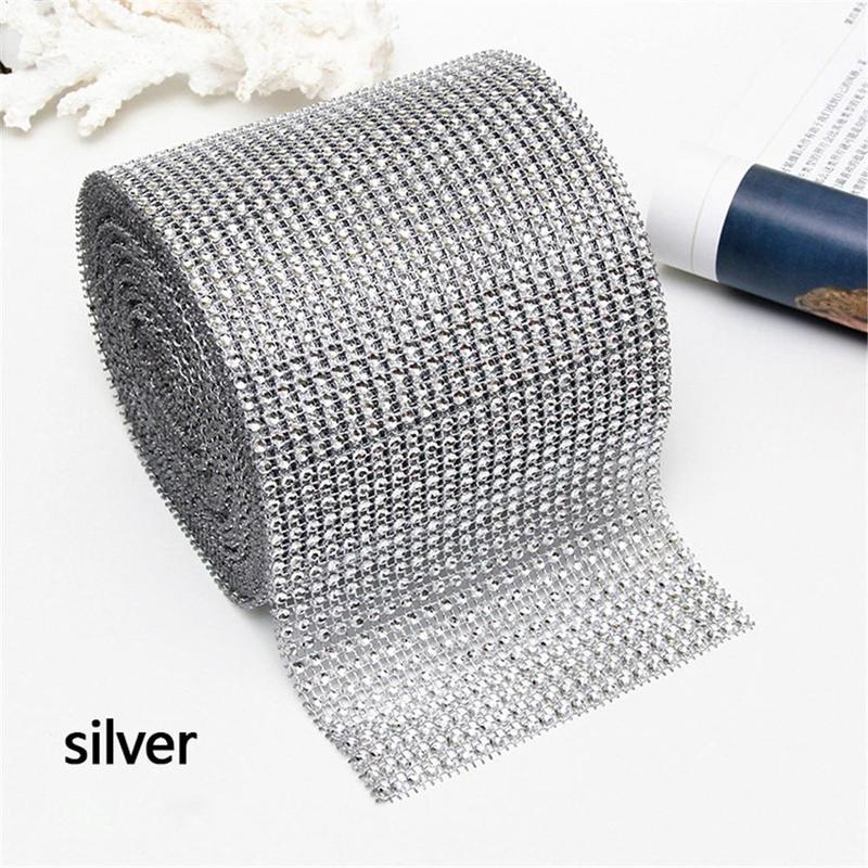 Detail Feedback Questions about 90cm Bling Diamond Mesh Wrap Ribbon ... ad6e6bfce234