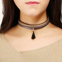 Choker with Tassel