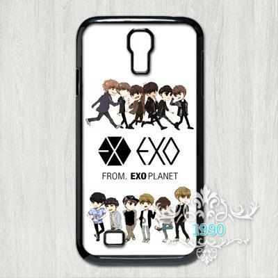 Exo Kpop Printed Phone Case for iPhone and Samsung