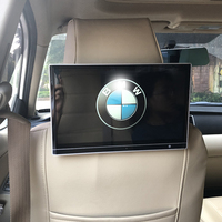 2019 UI Style Latest Product Car Android 8.1 Headrest Monitor With Wifi Bluetooth HDMI Rear Entertainment System For BMW X1 25i