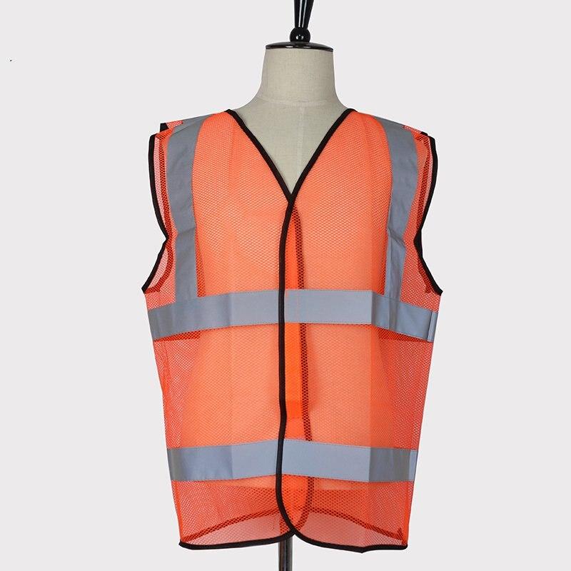 Orange traffic reflective vest vest safety clothing warning clothing cycling reflective clothing reflective vest safety clothing to road traffic motocross body armour protection jackets