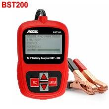 ANCEL BST-200 BST200 Batterie De Voiture Analyseur De Diagnostic 12 V 1000CCA Auto Batterie Analyseur testeur Multi-langue Livraison Gratuite