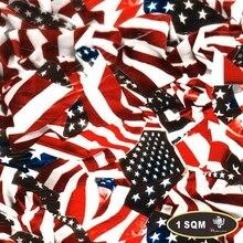 Флаг США переводная вода печать гидрографическая пленка Аква пленка для украшения автомобиля 0,5 м* 2 м HF00810