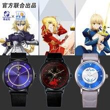 [Los Apocrypha]Anime zegarek Mordred Jeanne Alter los władca Saber Rin Emiya los wielki rozkaz FGO Cosplay figurka prezent
