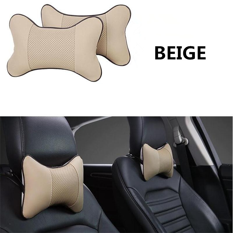white 2 X HEADREST PROTECTIVE COVERS CAR Volkswagen