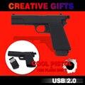 Новое Прибытие USB Flash Drive Пистолет Кремния Флешки Высокая Скорость Пера Drive Оружие USB Stick 32 ГБ USB Flash 16 ГБ Pendrive 8 ГБ Подарок