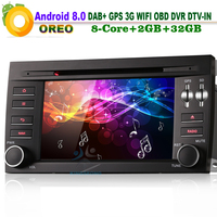Android 8.0 Autoradio DAB+ Bluetooth WiFi 3G GPS RDS BT DVD USB SD DVR DTV IN OBD Sat Nav Car Radio Player for Porsche Cayenne