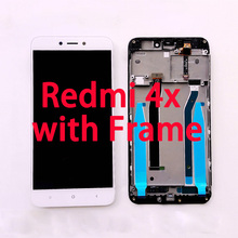 RYKKZ AAA Quality LCD With Touch With Frame For Xiaomi Redmi 4X LCD Display Screen Replacement For Redmi 4X Digiziter Assembly цена