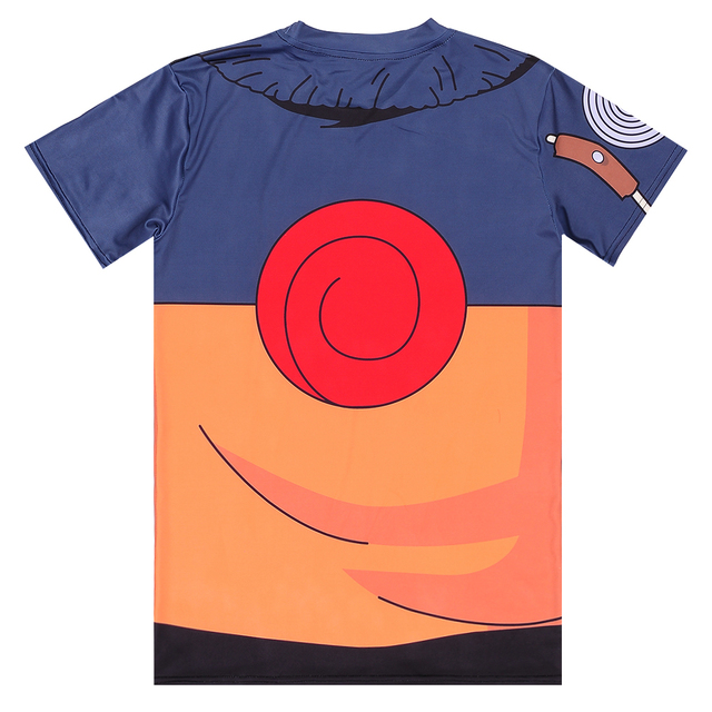 Anime Naruto 3D Casual Fitness T-Shirt