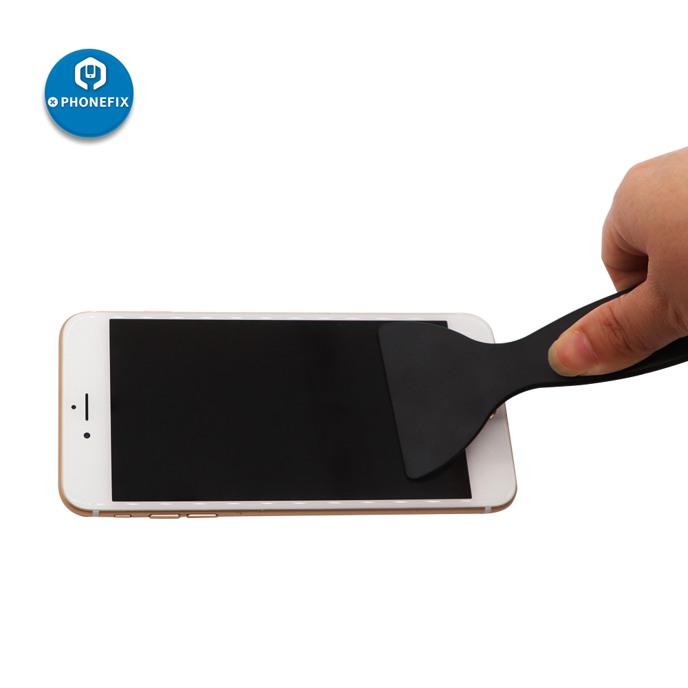 PHONEFIX Plastic Scraper Shovel Phone Screen Bubble Remover Phone Protective Film Assembly Pasting Tool To Squeeze Out Bubbles