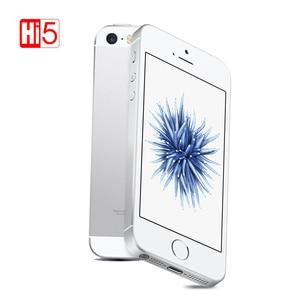 "Image 2 - Original Apple iphone SE Mobile PhoneA1723/A1662 2GB RAM 16GB/64GB ROM 4.0"" Multi language iOS Dual core Used Smartphone"