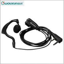 New High Quality WOUXUN Two Way Radio Headset Ham Radio Walkie Talkie Earphone Black