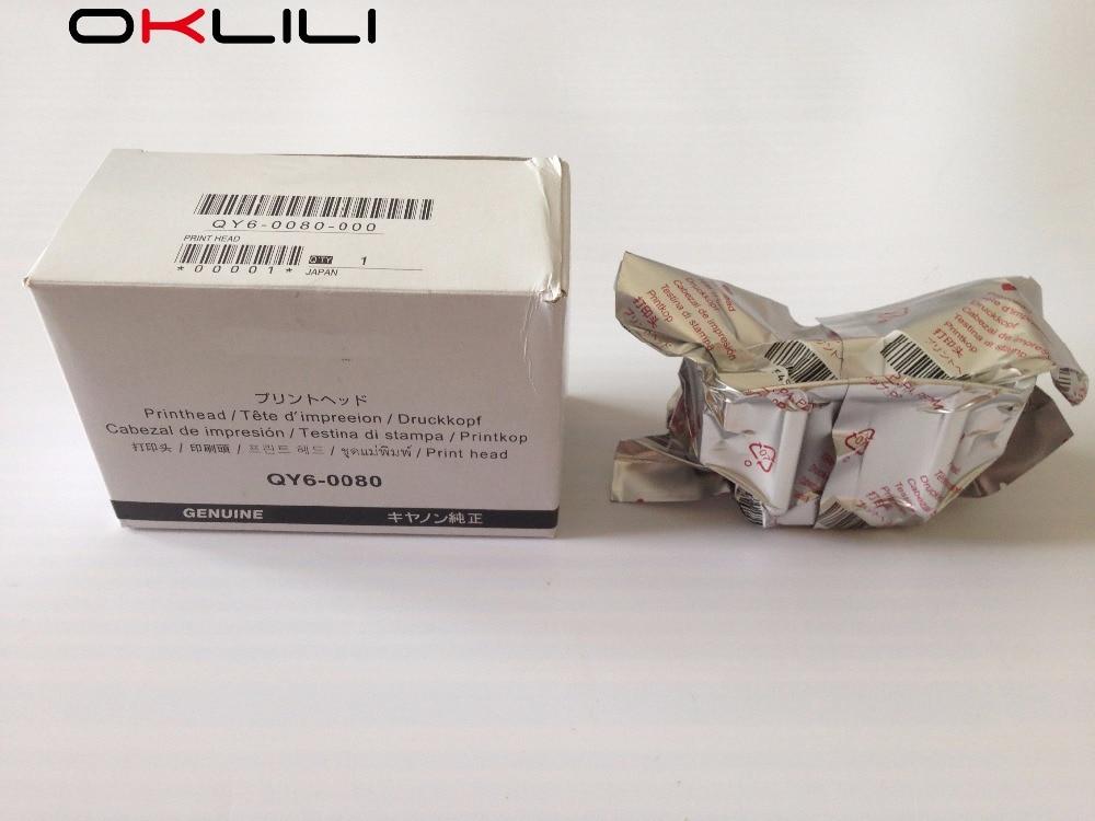 ORIGINAL QY6-0080 Printhead Printer Print Head for Canon iP4820 iP4850 iX6520 iX6550 MX715 MX885 MG5220 MG5250 MG5320 MG5350