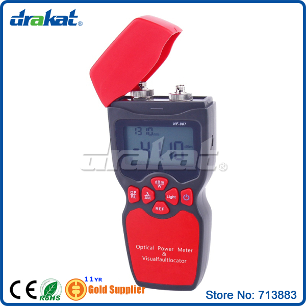 New Fiber Optical Multimeter Power Meter Visual Fault Locator NF-907