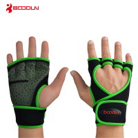 Boodun Weight Lifting Training Gloves Men Women Fitness Sports Body Building Gymnastics Grips Gym Hand Palm Protector Glove