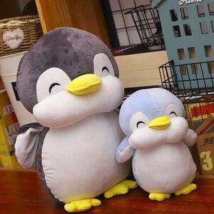 Image 1 - 22 cm חיוך פינגווין בפלאש צעצועי חיות חמודה בובת רך כותנה בפלאש צעצועי ילדים יום הולדת מתנה לחג המולד